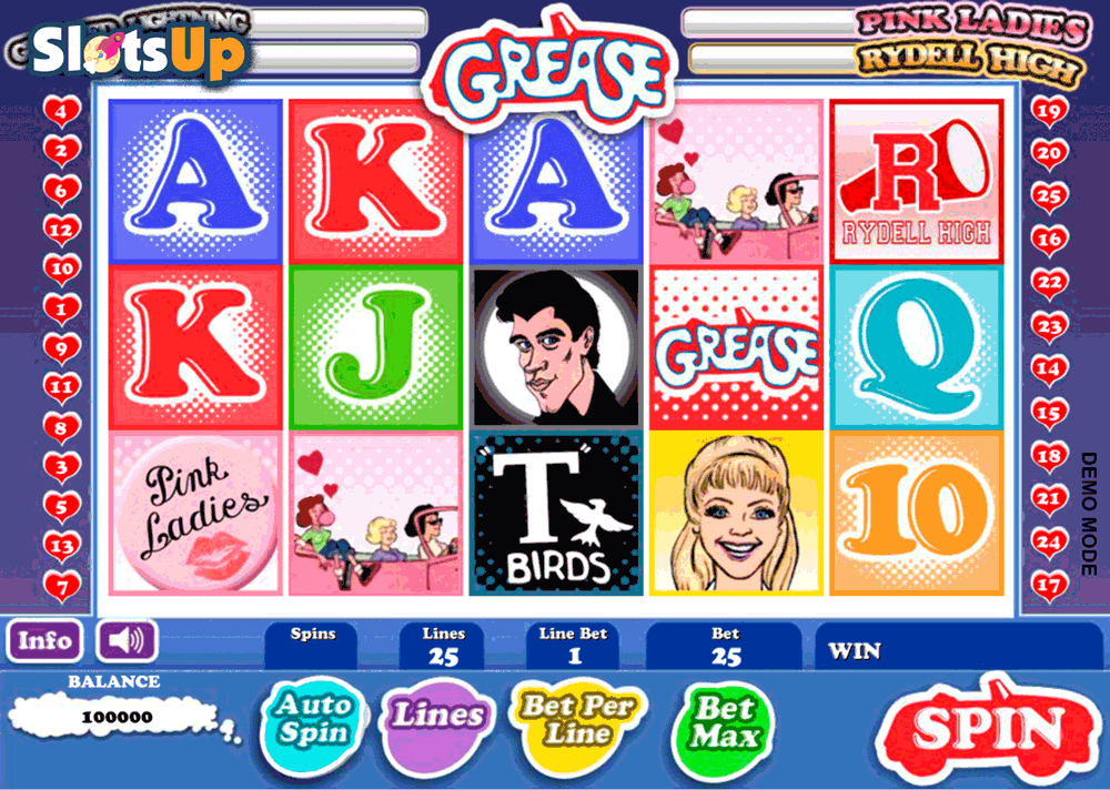 Grease Slot Machine Online ᐈ Daub Games™ Casino Slots