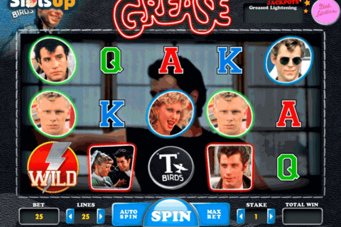 GREASE PINK LADIES TBIRDS DAUB GAMES CASINO SLOTS