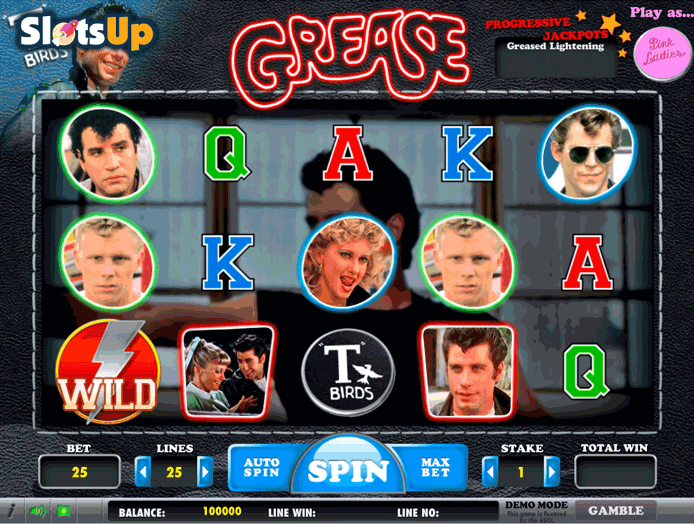 Grease: Pink Ladies & T-Birds Slot Machine Online ᐈ Daub Games™ Casino Slots