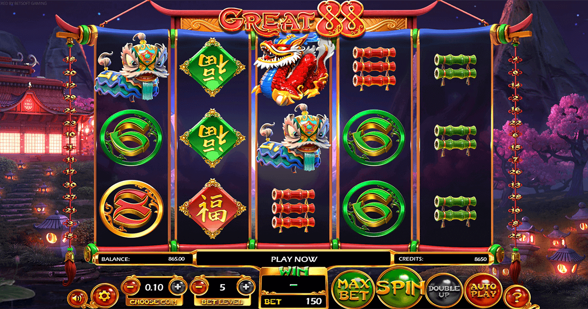great 88 betsoft casino slots