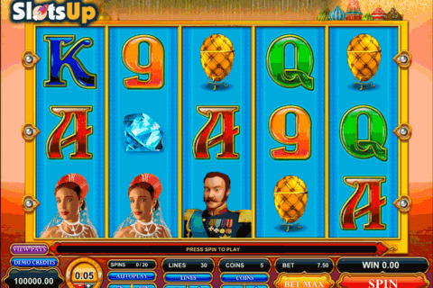 great czar microgaming casino slots 480x320