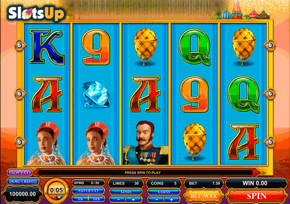 GREAT CZAR MICROGAMING CASINO SLOTS