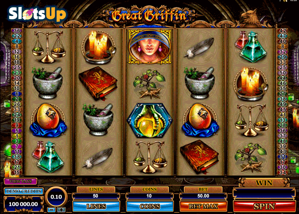 GREAT GRIFFIN MICROGAMING CASINO SLOTS