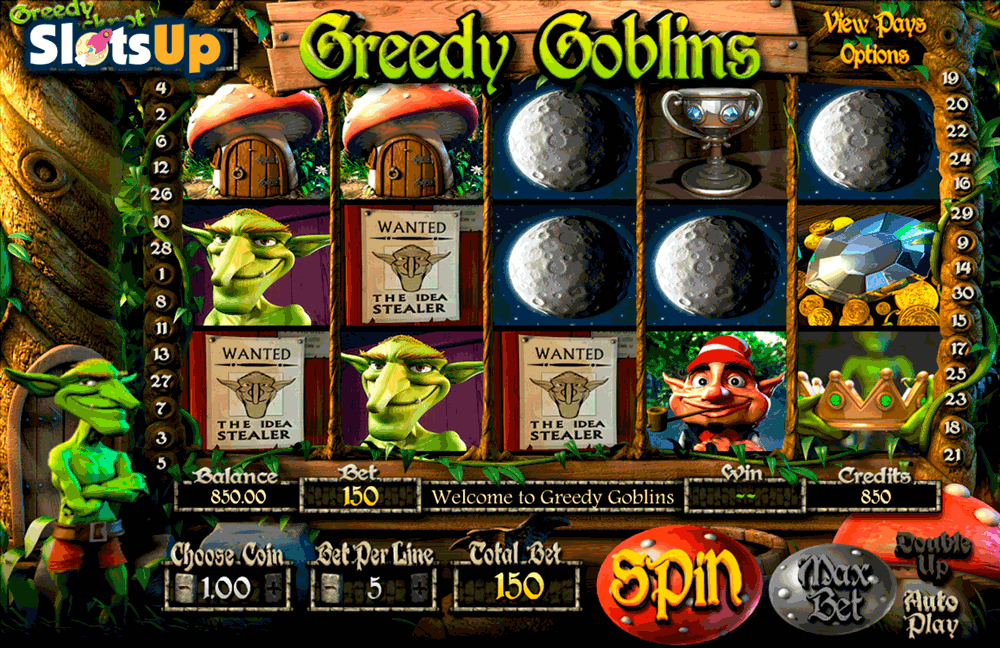 greedy goblins betsoft casino slots