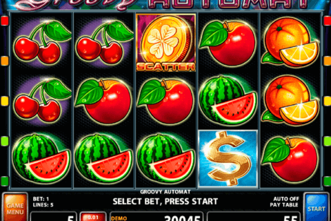 GROOVY AUTOMAT CASINO TECHNOLOGY SLOT MACHINE