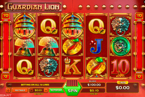 GUARDIAN LION GAMEART SLOT MACHINE