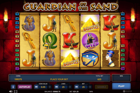 GUARDIAN OF THE SAND ZEUS PLAY