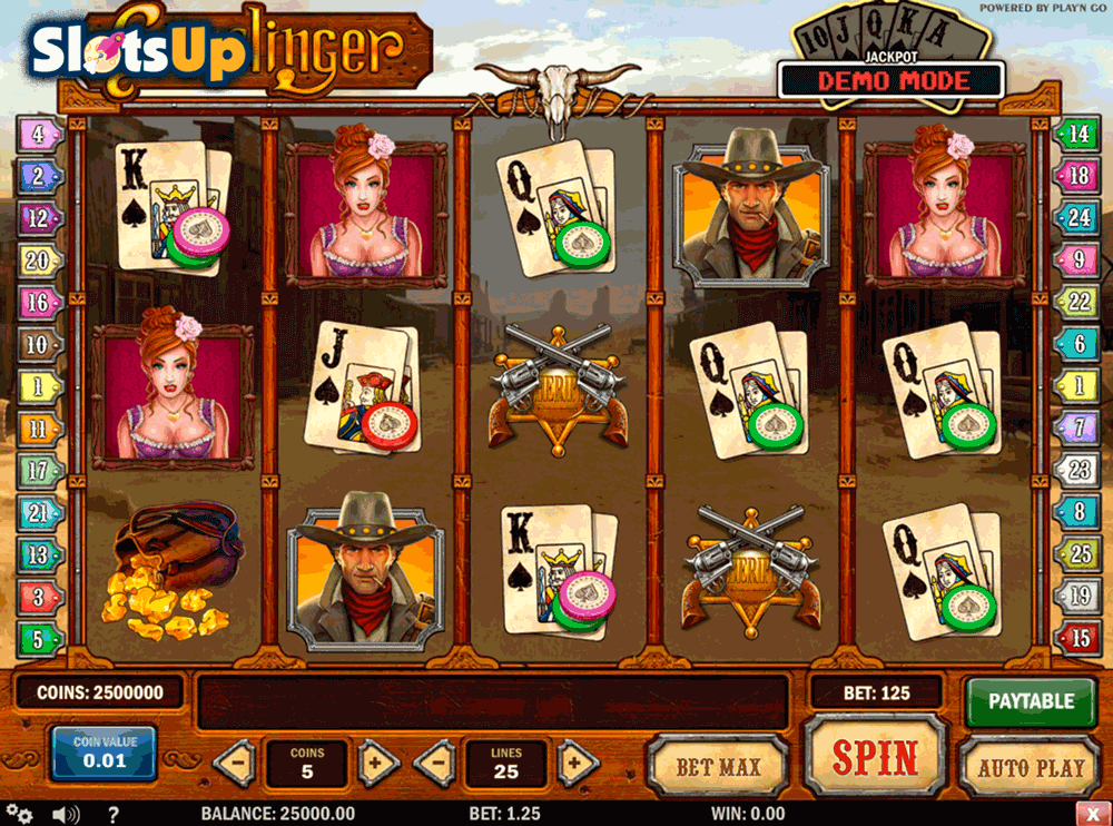 Gunslinger™ Slot Machine Game to Play Free in Playn Gos Online Casinos