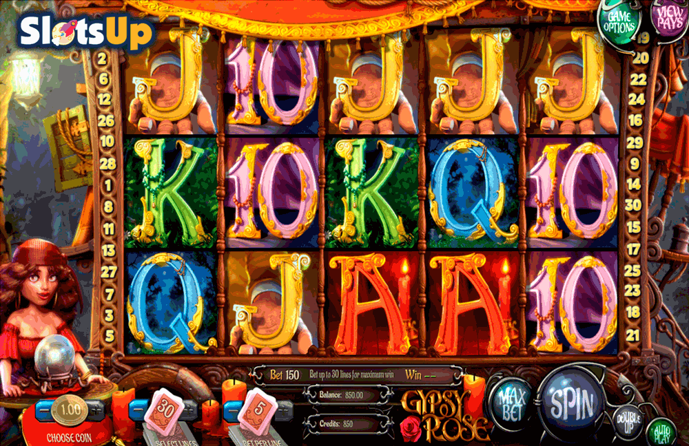 GYPSY ROSE BETSOFT CASINO SLOTS