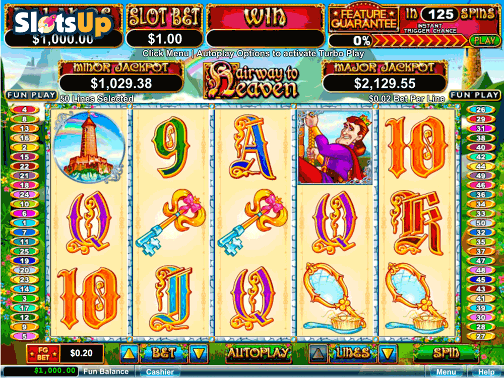 hairway to heaven rtg casino slots