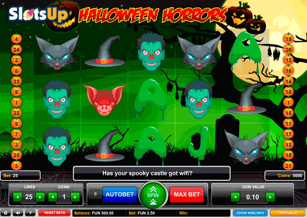 Play Halloween in Casino for Real Money: