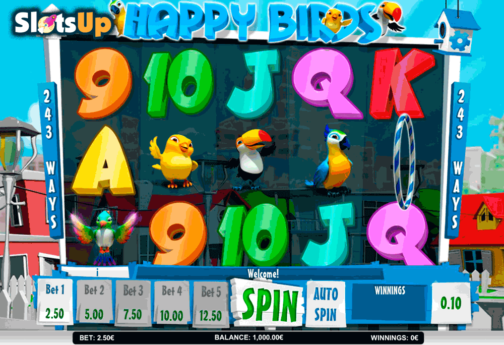 HAPPY BIRDS ISOFTBET CASINO SLOTS