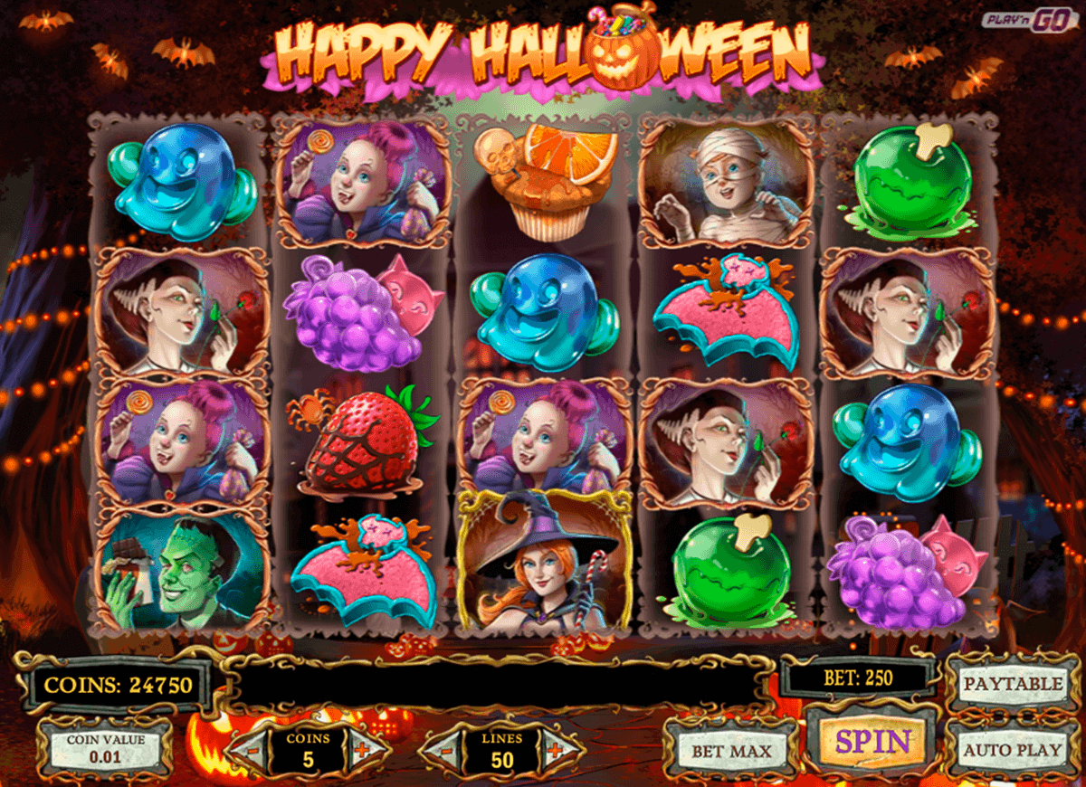 HAPPY HALLOWEEN PLAYN GO CASINO SLOTS