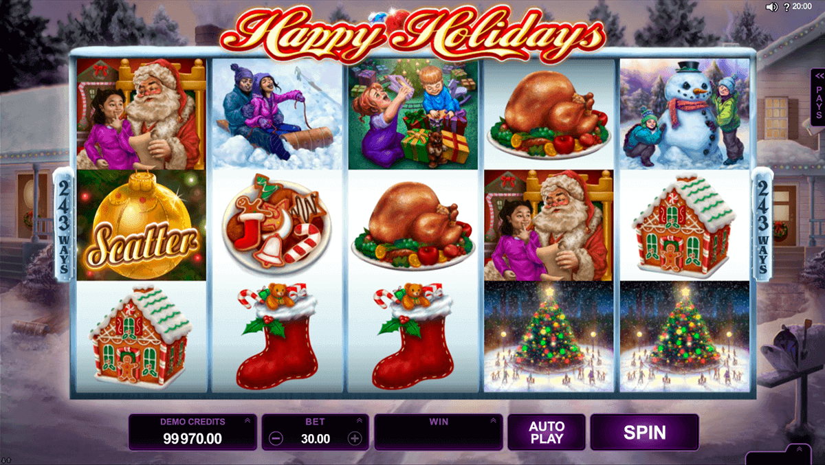 free online slots machine casino holidays