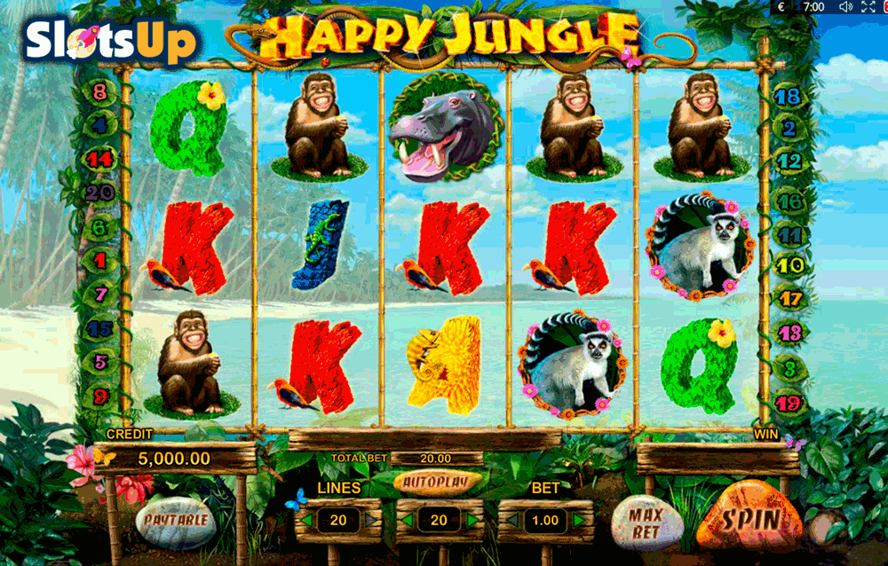 Jungle Reels Slots - Free to Play Online Casino Game