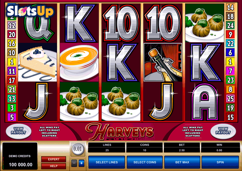HARVEYS MICROGAMING CASINO SLOTS