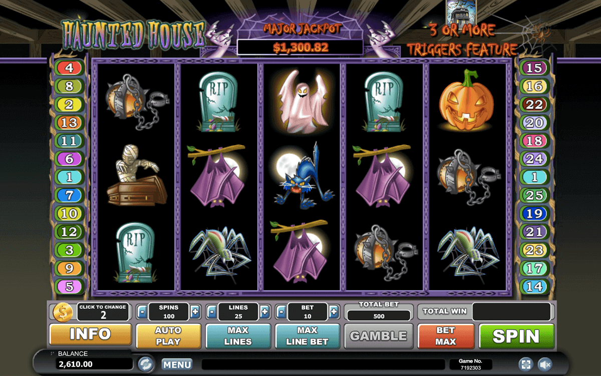 Haunted House Slot Machine Online ᐈ Playtech™ Casino Slots
