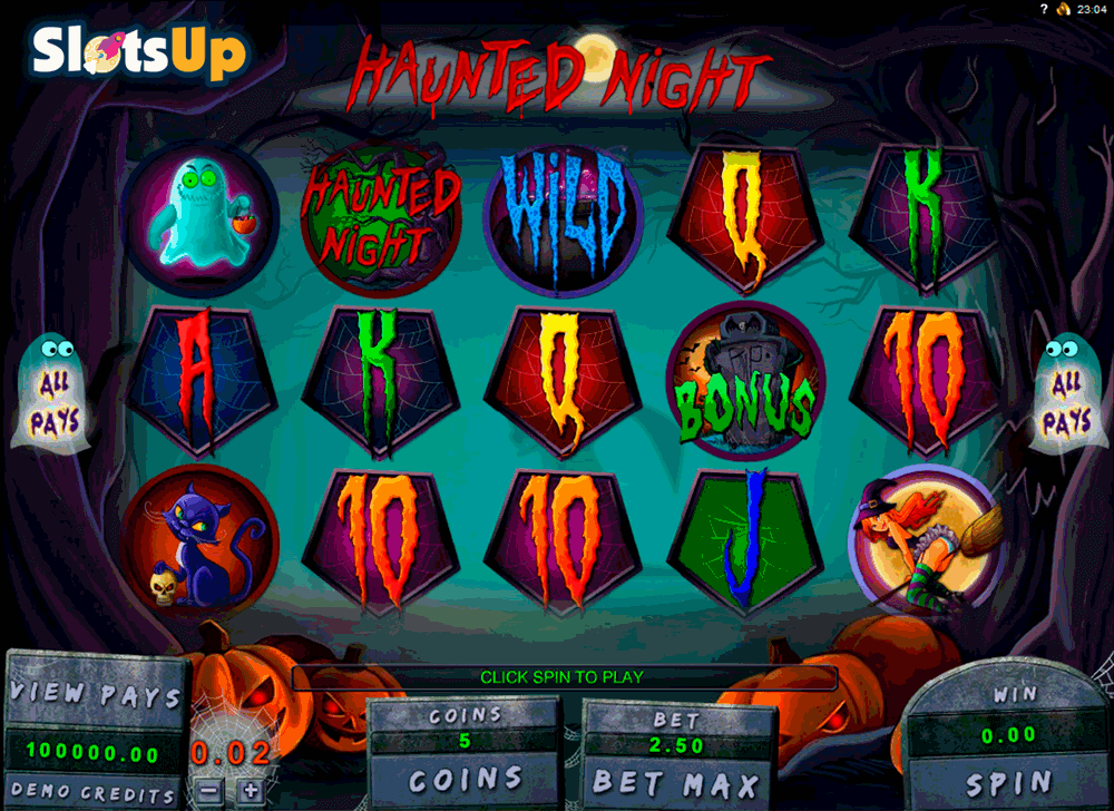 haunted night genesis casino slots