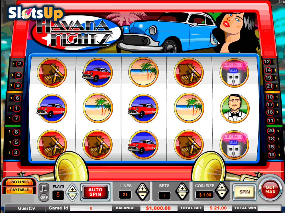 Havana Nights Slot Machine Online ᐈ Vista Gaming™ Casino Slots