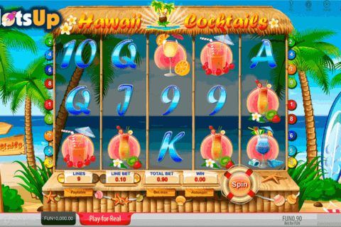 HAWAII COCKTAILS SOFTSWISS CASINO SLOTS