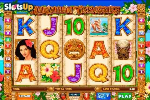 HAWAIIAN TREASURE ASH GAMING CASINO SLOTS
