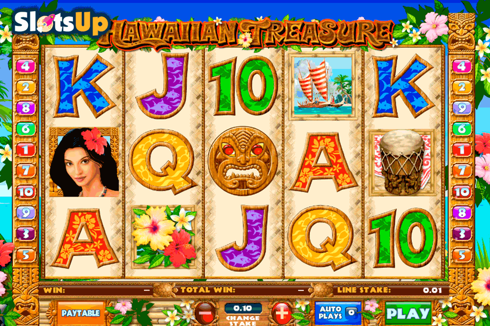 Play Hawaiian Treasure Online Slots at Casino.com Canada