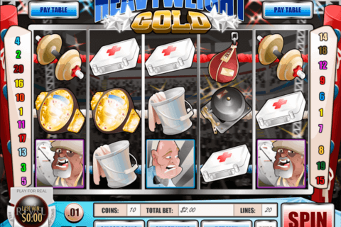 HEAVYWEIGHT GOLD RIVAL CASINO SLOTS