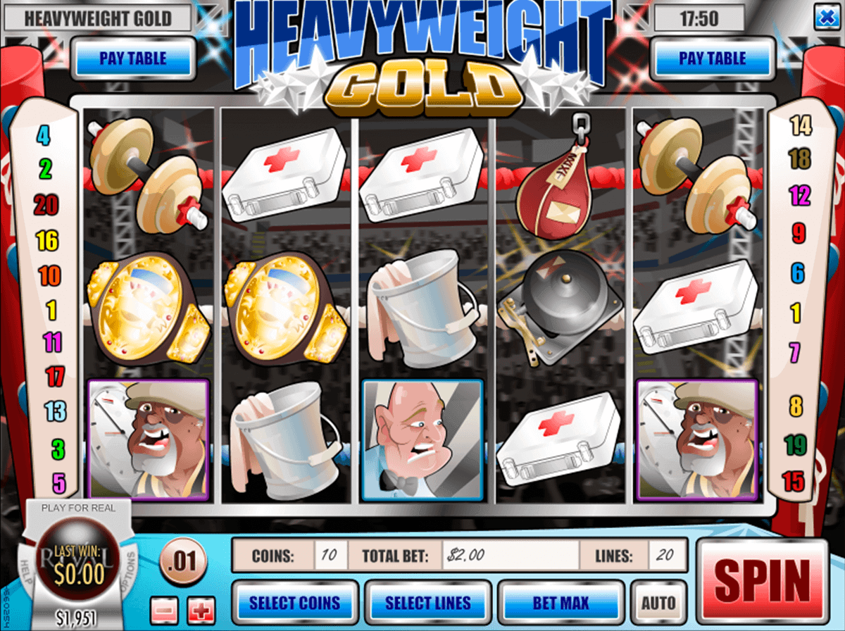 Heavyweight Gold™ Slot Machine Game to Play Free in Rivals Online Casinos