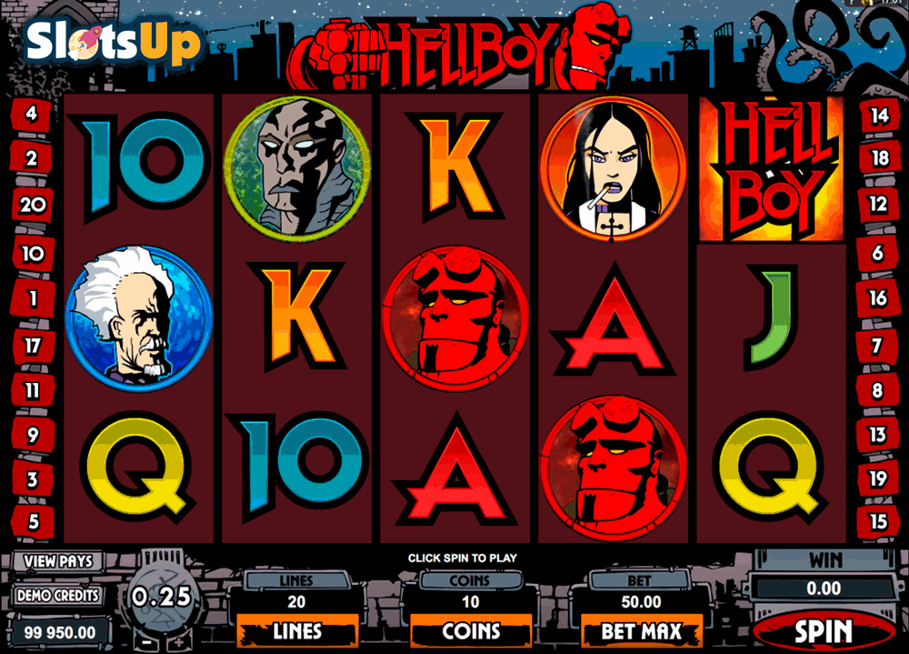 Hellboy Online Video Slots for Real Money - Rizk Casino