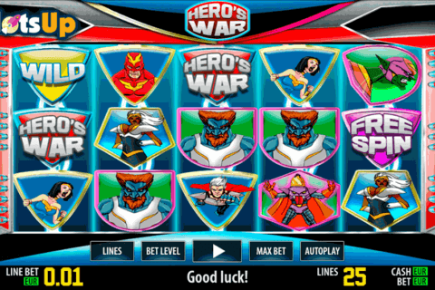 hero war hd world match casino slots 480x320