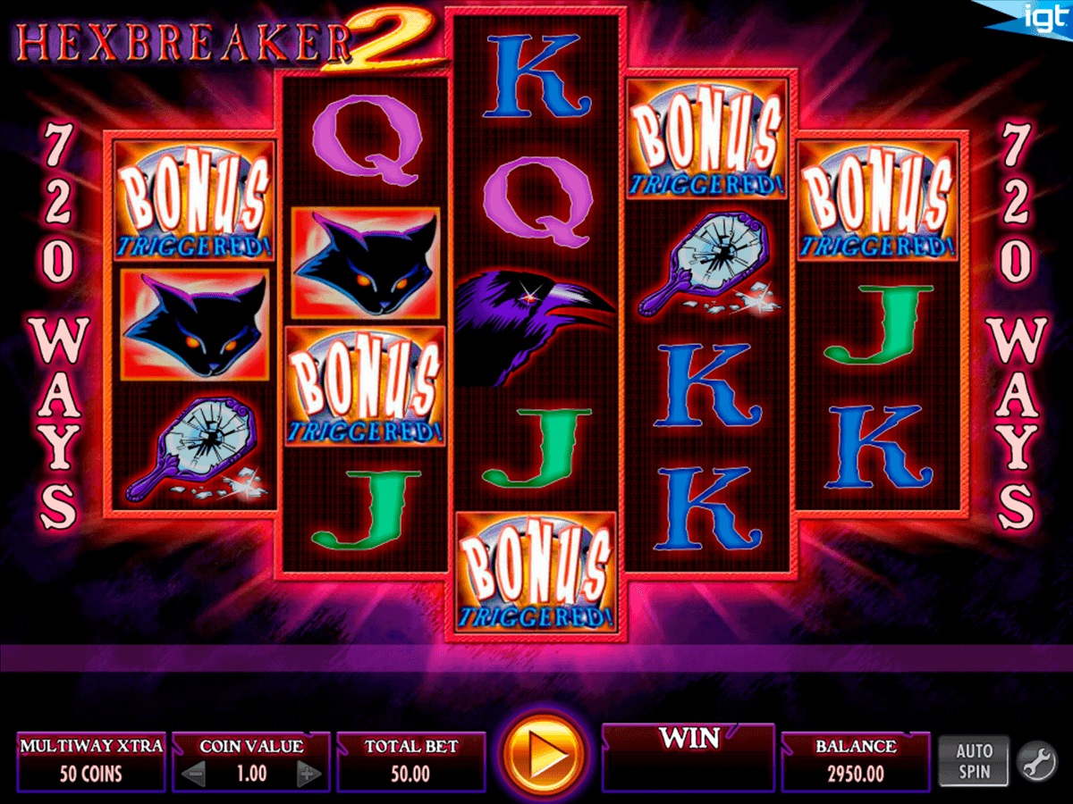 Hexbreaker 2™ Slot Machine Game to Play Free in IGTs Online Casinos