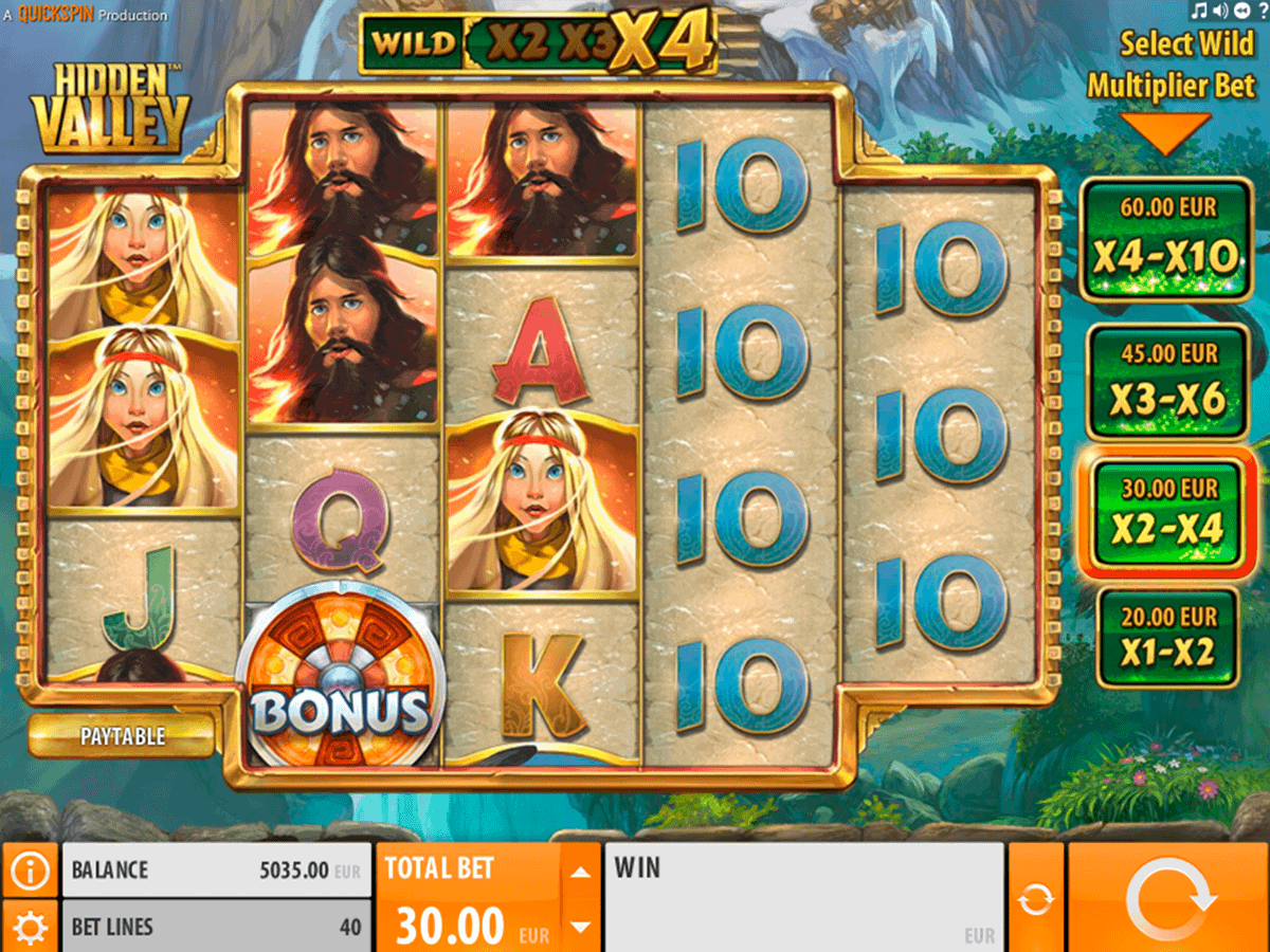Hidden Valley™ Slot Machine Game to Play Free in QuickSpins Online Casinos