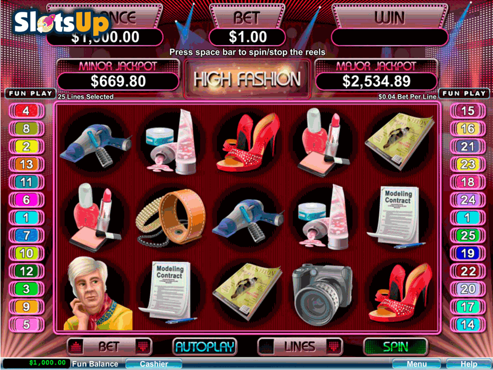 high fashion rtg casino slots