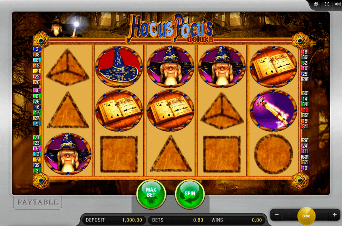 Hocus Pocus Slots - Play Now for Free or Real Money