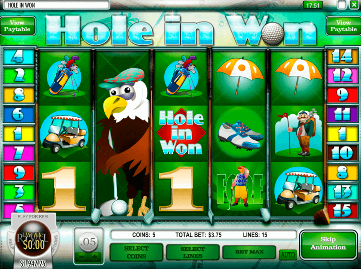 HOLE IN WON RIVAL CASINO SLOTS