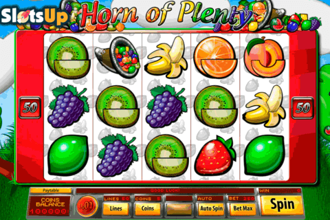 HORN OF PLENTY SAUCIFY CASINO SLOTS