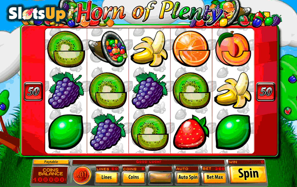 Horn Of Plenty™ Slot Machine Game to Play Free in Saucifys Online Casinos