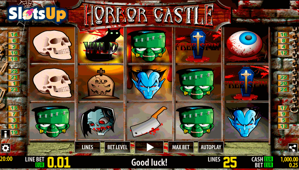 Horror Slots Themes Online