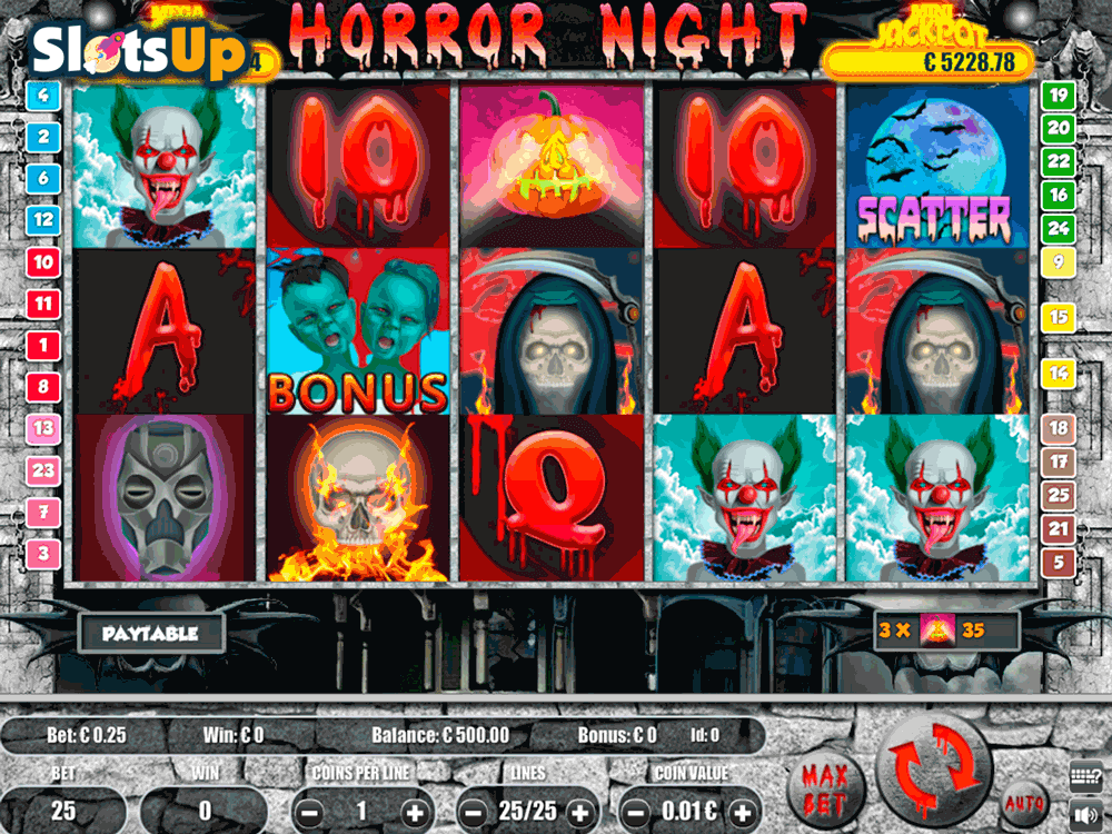 horror house portomaso casino slots