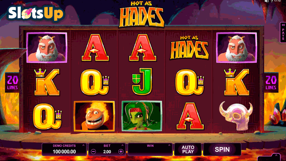 Hot as Hades slotspil – spil Microgaming slots online