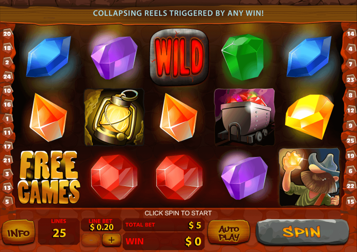 Gems Slots Online and Real Money Casino Play