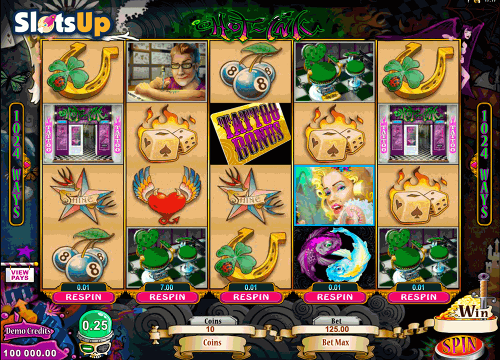 HOT INK MICROGAMING CASINO SLOTS