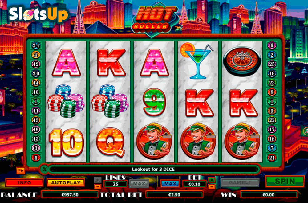 HOT ROLLER NEXTGEN GAMING CASINO SLOTS