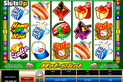 HOT SHOT MICROGAMING CASINO SLOTS