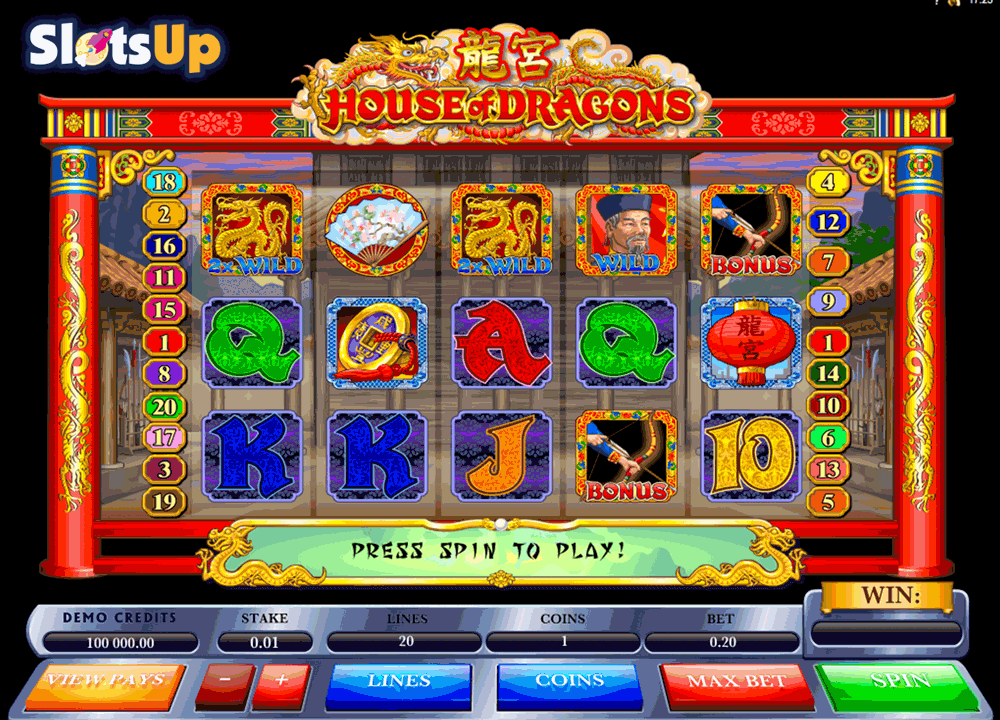 House of Dragons™ Slot Machine Game to Play Free in Microgamings Online Casinos