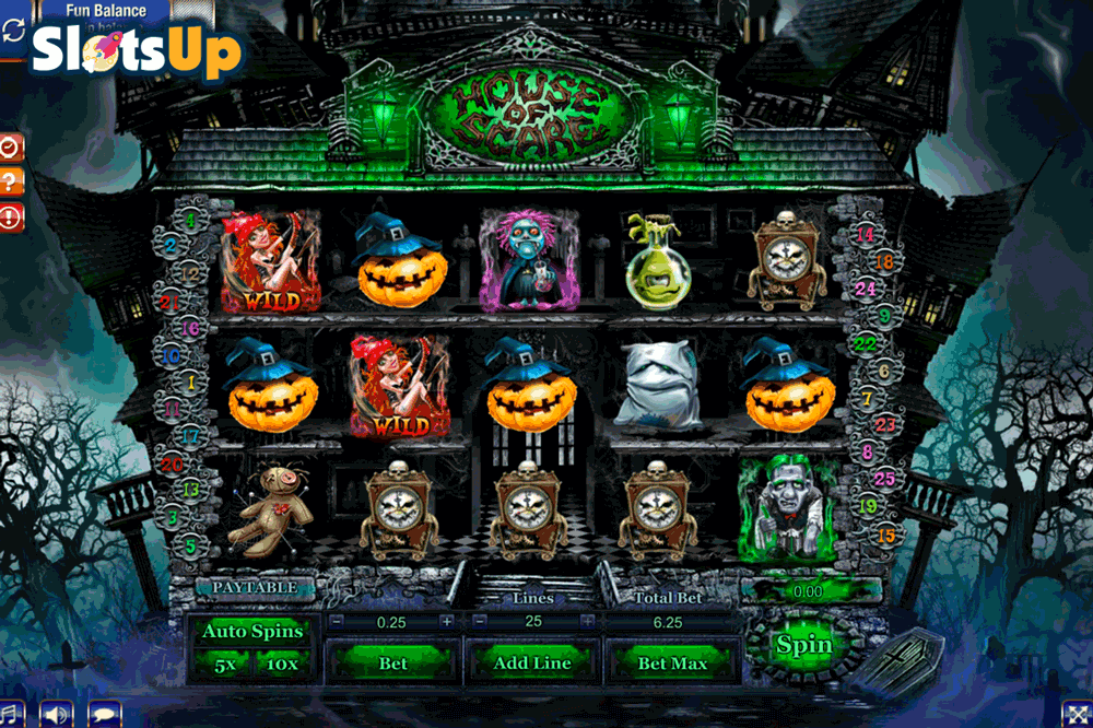 House of Freaks Slot - Play Real Casino Slots Online