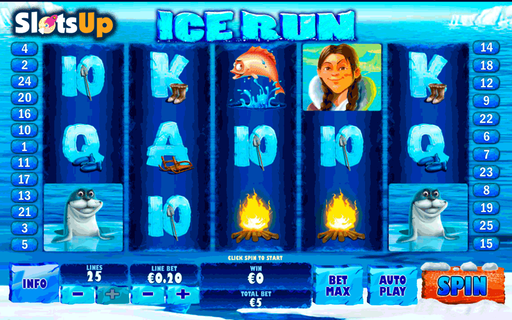 ice run playtech casino slots