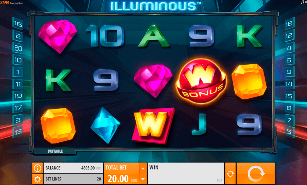 Illuminous Slot Machine Online ᐈ Quickspin™ Casino Slots