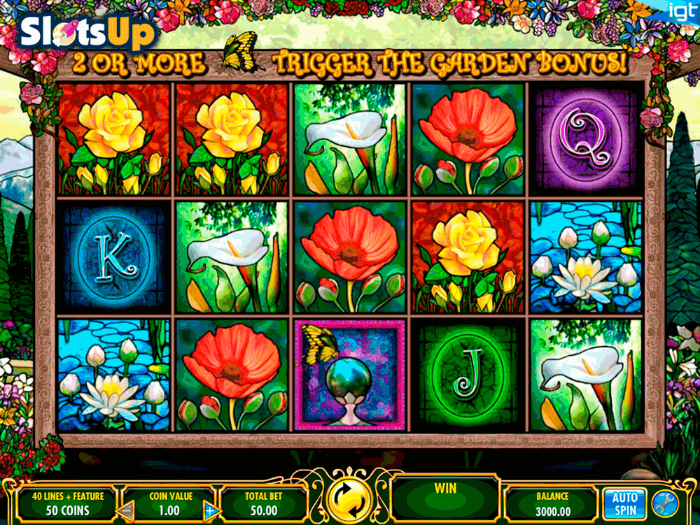 In Bloom Slot Machine - Free Online Casino Game by IGT