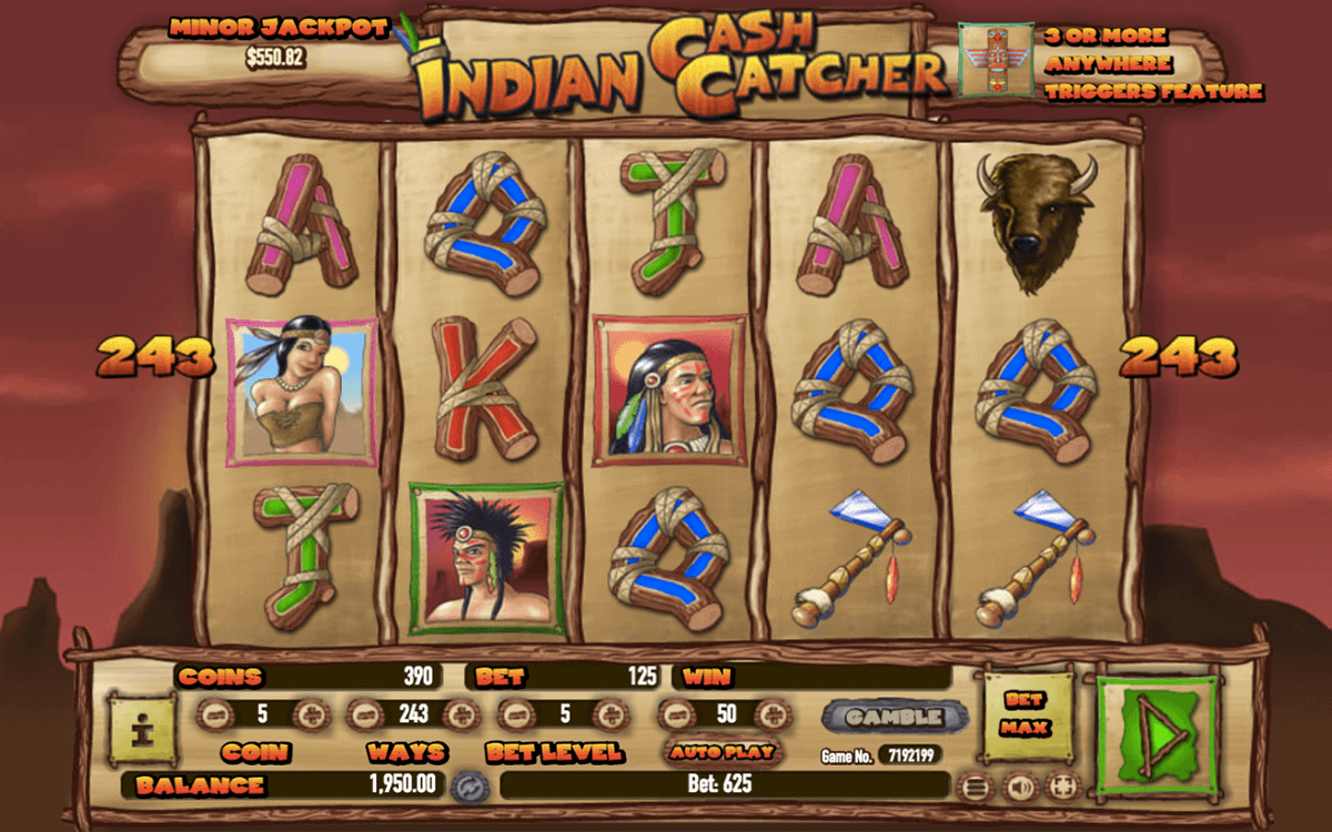 Native Indians Slot Machine - Play Online & Win Real Money